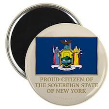 "New York Proud Citizen 2.25"" Magnet (10 pack)"