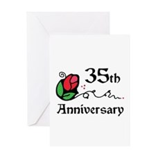 35th Greeting Card