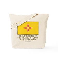New Mexico Proud Citizen Tote Bag
