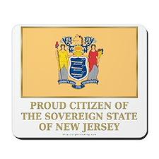 New Jersey Proud Citizen Mousepad