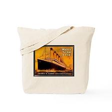 White Star Titanic Tote Bag