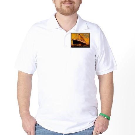 White Star Titanic Golf Shirt