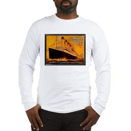 White Star Titanic Long Sleeve T-Shirt