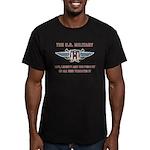 U.S. Military Men's Fitted T-Shirt (dark)