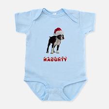 Naughty Boston Terrier Infant Bodysuit