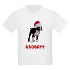 Naughty Boston Terrier T-Shirt