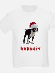 Naughty Boston Terrier T-Shirt