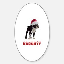 Naughty Boston Terrier Decal