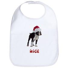 Nice Boston Terrier Bib