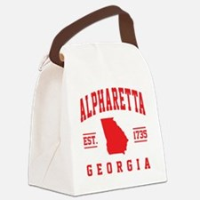 Cool Ga Canvas Lunch Bag