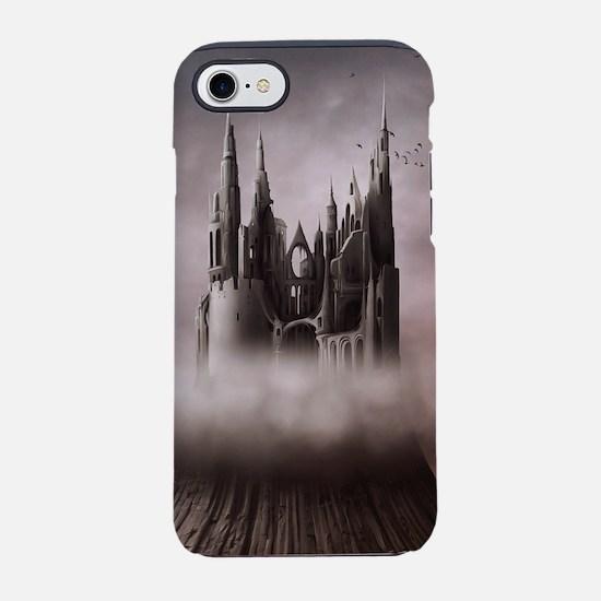 Gothic Castle Ruins iPhone 7 Tough Case