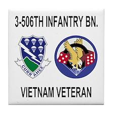 3-506th Infantry Vietnam Tile Coaster 2