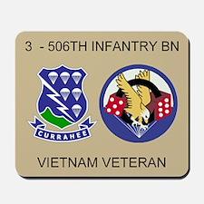 3-506th Infantry Vietnam Mousepad 2
