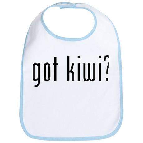 got kiwi? Bib