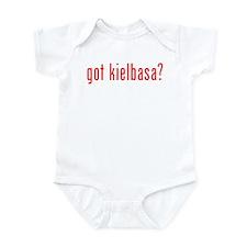 got kielbasa? Infant Bodysuit