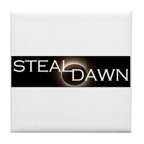 Steal Dawn Tile Coaster