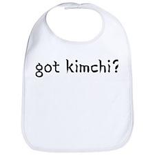 got kimchi? Bib