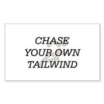 TOP Chase Your Tailwind Rectangle Sticker 50 pk)
