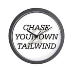 TOP Chase Your Tailwind Wall Clock