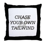 TOP Chase Your Tailwind Throw Pillow