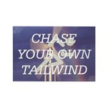 TOP Chase Your Tailwind Rectangle Magnet