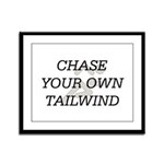 TOP Chase Your Tailwind Framed Panel Print