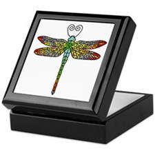 Pretty Dragonfly Keepsake Box