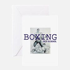 TOP Boxing Slogan Greeting Card