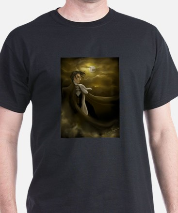 Over the Hills... Black T-Shirt