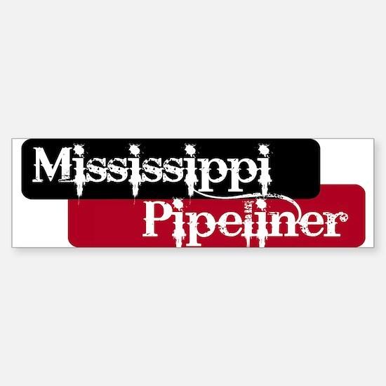 Mississippi Pipeliner Bumper Bumper Bumper Sticker