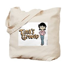 Tina in Blue Jeans Tote Bag