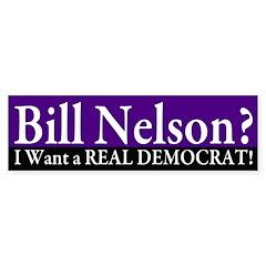 Reject Bill Nelson Bumper Bumper Sticker
