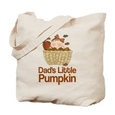 Dad's Little Pumpkin Tote Bag