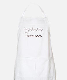Capsaicin Molecule Cooking And Bbq Apron