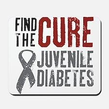 Juvenile Diabetes Mousepad