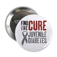 "Juvenile Diabetes 2.25"" Button"