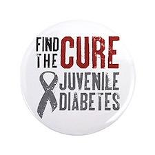 "Juvenile Diabetes 3.5"" Button"