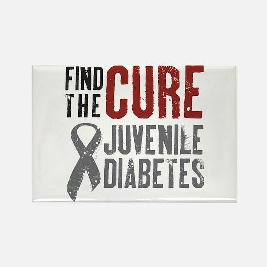 Juvenile Diabetes Rectangle Magnet