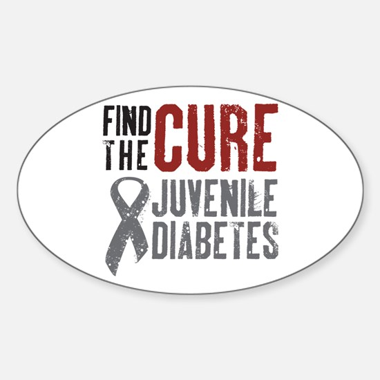 Juvenile Diabetes Oval Decal