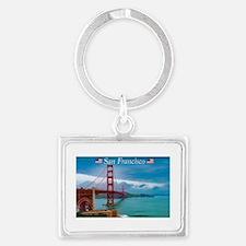Cute San francisco souvenirs Landscape Keychain