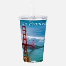 Stunning! Golden Gate Acrylic Double-wall Tumbler