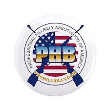 """ProHillbilly.com Logo 3.5"""" Button"""