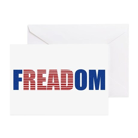 FREADOM Greeting Cards (Pk of 20)