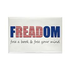 FREADOM Rectangle Magnet