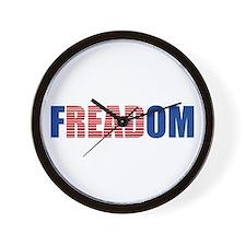FREADOM Wall Clock