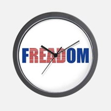 FREADOM Wall Clock