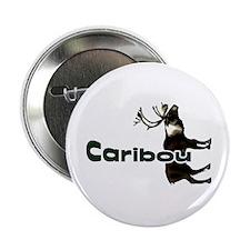 """Caribou t-shirt shop 2.25"""" Button"""