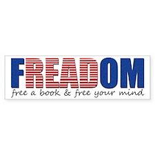 FREADOM Bumper Bumper Sticker