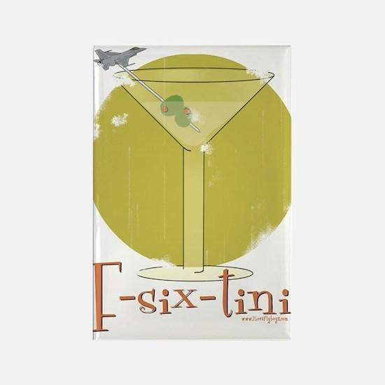 F-six-tini Rectangle Magnet