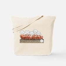 Swine Flu Tote Bag